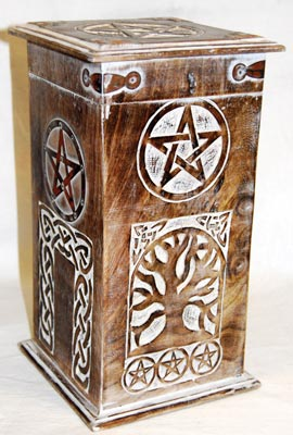 Pentagram and Tree chest