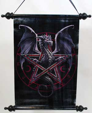 Anne Stokes Dragon Pentagram