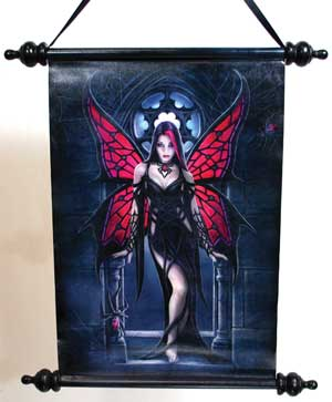Anne Stokes Aracnafaria Scroll