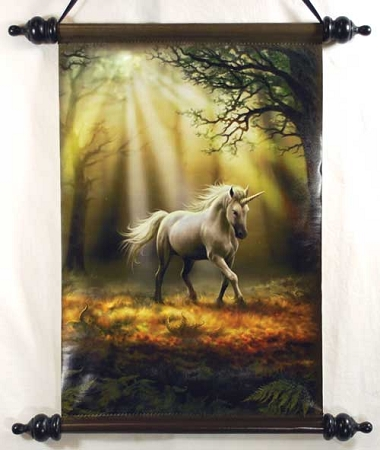 Anne Stokes Glimpse Unicorn