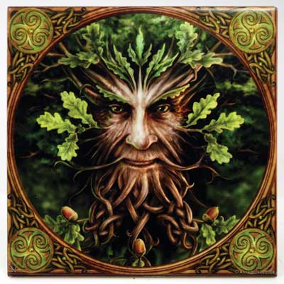 Small Anne Stokes Greenman tile
