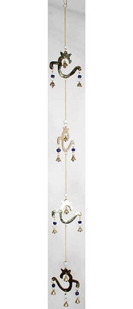 Om Wind Chime 34 inches  long