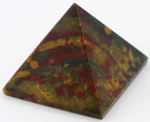Bloodstone Crystal Pyramid 30-35mm