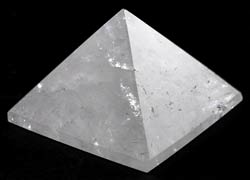 Quartz Crystal Pyramid 25-30mm