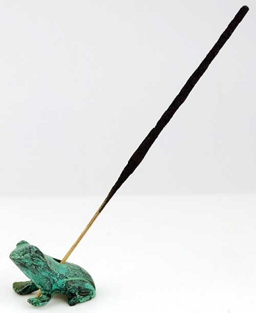 Frog Stick Incense Holder