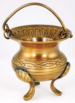 Celtic Brass Cauldron 3