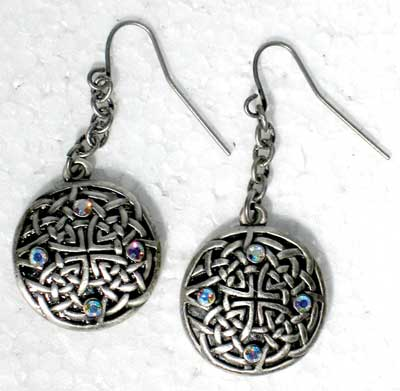 Celtic Fairy Knotwork Earrings
