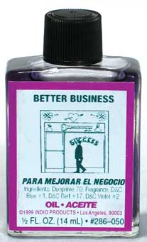Annointing Oil 4dr  Better Business