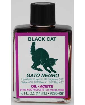 Annointing Oil 4dr  Gato Negro