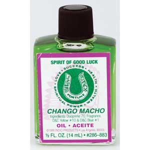 Chango Macho 4dr oil
