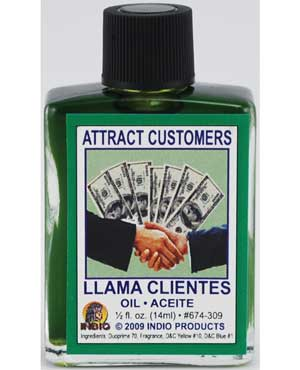 Attract Customers Oil 4dr