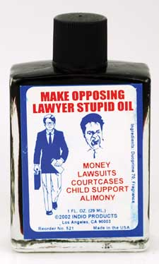 Make Opposing Lawer Look Stupid oil 1oz
