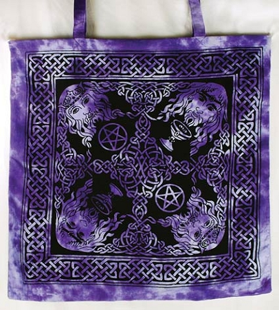 Celtic King Tote Bag
