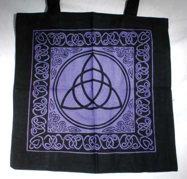 Triquetra With Celtic Knotwork