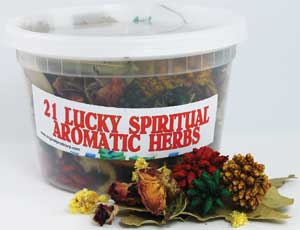 21 Lucky Spiritual Bath Herb
