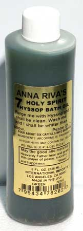 7 Holy Spirit Hyssop bath