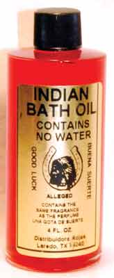 Indian bath oil 4 oz
