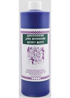 Uncrossing/ Jinx Removing Bath 16oz
