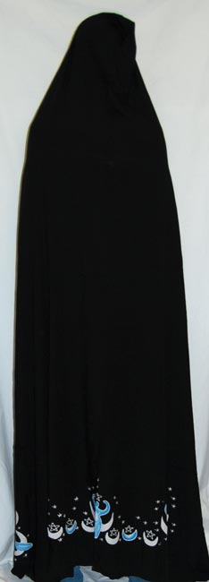 Cape: Moon Goddess black 6'