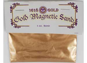 Gold Magnetic Sand 1oz
