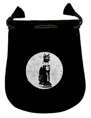 Bast Velveteen Bag 5 inches