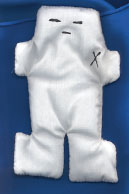 Voodoo Doll White