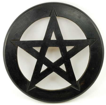 Pentagram wall hanging/altar tile 9