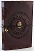 Large God's Eye leather blank book
