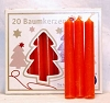 Orange Chime Candle 20pk