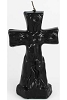 Black Cross Candle
