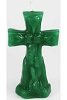 Green Cross Candle