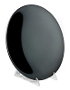Concave Black scrying mirror 8