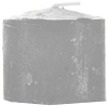 Gray 10 hour votive candle
