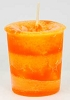 Joy herbal votive - orange