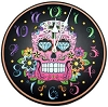 Day of the Dead clock 11 1/2
