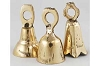 Clear Toned Brass Bell 1 1/2