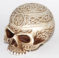 Celtic Skull Vessel 5