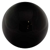 Black Obsidian crystal ball 40mm Gold Sheen