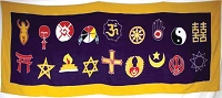 Interfaith Universal Worship Banner