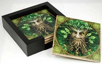Anne Stokes Greenman Coasters