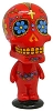 Red Bobblehead Day of the Dead