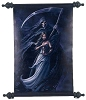 Anne Stokes Summon the Reaper wall scroll