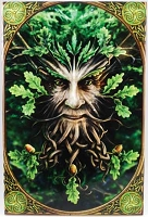 Large Anne Stokes Greenman tile
