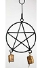 Pentagram wind chime 5