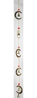 Crescent Moon wind chime 24