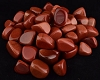 Red Goldstone tumbled stones 1 lb