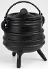 Ribbed cast iron cauldron 3