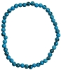 Turquoise Stretch Bracelet 4mm