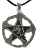 Witch Brooms Pentagram Pendant