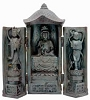 Kwan Yin Meditating Shrine